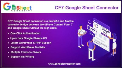 CF7 Google Sheet Connector