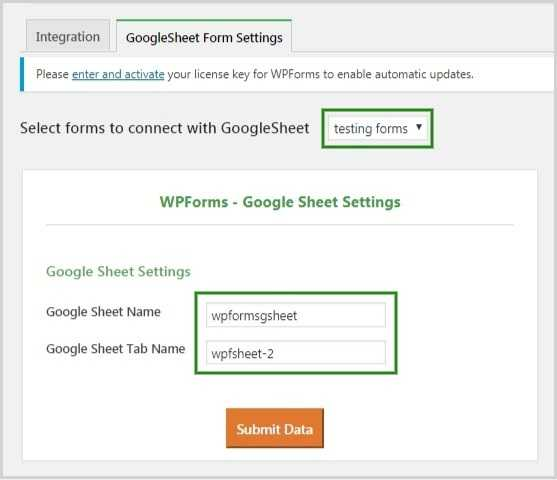 How to Connect a Google Sheet with WPForms? – Google Sheet Connector