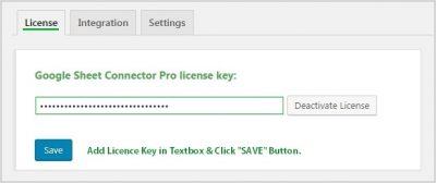 Licence Key