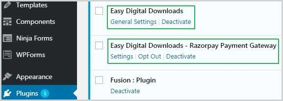 How to Use EDD Rozarpay Addons 1