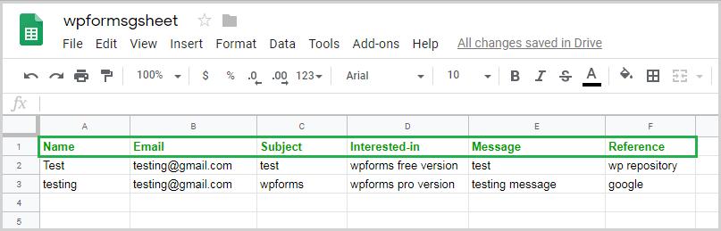 How Work WPForms PRO 7