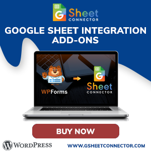 GSheet Connector WPForms ADD-on