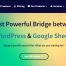 Google Sheet Connector for WordPress – Google Sheet Connector