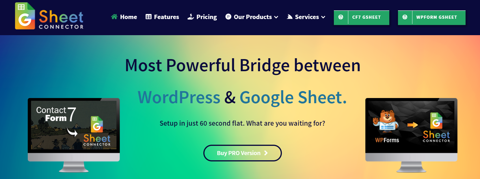 Google Sheet Connector for WordPress – Google Sheet Connector